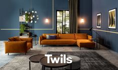Dynamic modular system: Twils Lounge Graffiti, design Studio Viganò