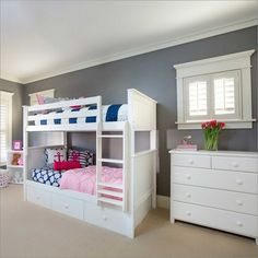 Maxwood Furniture Jackpot! Bunk Bed With Trundle Storage In White