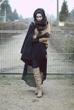 Fierce. #hijab
