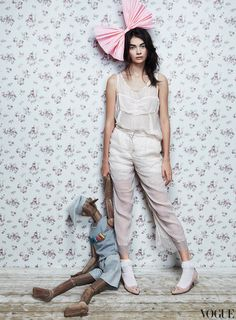 d-elicatebeauty:    Antonina Vasylchenko - Vogue Russia December 2012