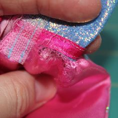 How to fix Barbie clothes.