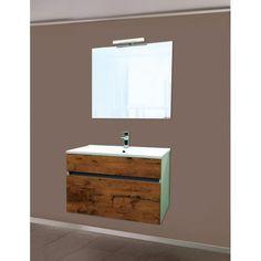 Vanity, Bathroom, Mirror With Lights, Interior Home Decoration, Set Of Drawers, Shopping, Oak Tree, Decorating Ideas, Full Bath