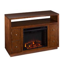 Brentford TV Stand with Electric Fireplace 500