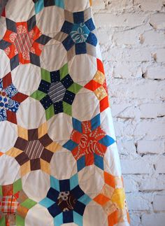 paper pieced quilt