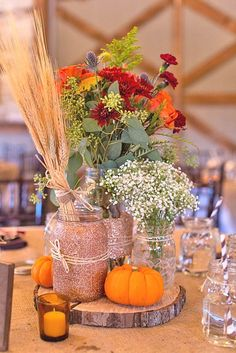 18 Incredible Ideas For Fall Wedding Decorations ❤ See more: www.weddingforwar... #wedding #decor #fall