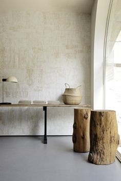 Robinson collection - wallcovering 100% hand-crafted product, made, woven and painted by hand. Each production is unique.