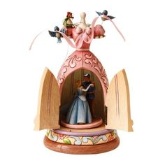 Disney Traditions by Jim Shore 4016556 Cinderella Dress Musical Figurine 10-Inch