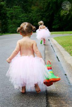 Following big sister