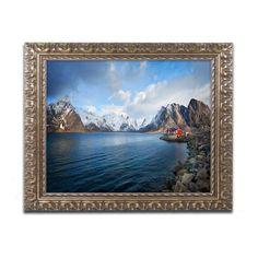 Trademark Fine Art Philippe Sainte-Laudy A Good Sign Framed Wall Art - PSL0530-G1620F