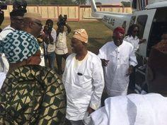 Mabel Naija's Blog (MNB)                                                      : NEWS: Tinubu Arrive At The Ooni of Ife's Coronatio...