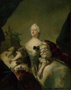 Pilo, Carl Gustaf - Louise, Queen of Denmark, noin 1741 - 1751