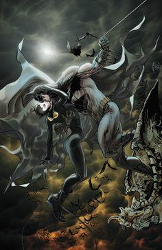 """Catwoman & Batman"" - CATWOMAN #2 by Guillem March"