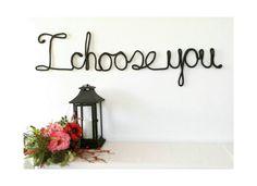 I choose you wedding decor, black wedding decoration, elegant wedding decor