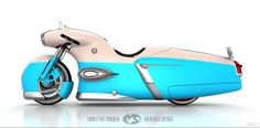 Electric Volga concept motorcycle by Solifague Design Futuristic Motorcycle, Futuristic Cars, Motorcycle Bike, Motorcycle Paint, Concept Motorcycles, Cool Motorcycles, Scooter Custom, Custom Bikes, Henderson Motorcycle