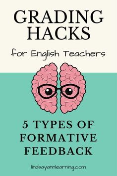 Types of Writing Feedback for English Language Arts Teachers