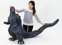 Godzilla vs. Biollante Kaiju Model  1/80 scale monster figure set.