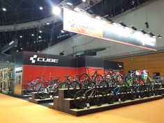 Feria Unibike Cube by CajaEco®. Retail Design, Cube, Sports, Shopping, Ideas, Exhibitions, Hs Sports, Sport, Thoughts