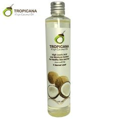Tropicana 100% Natural Organic Extra Virgin Coconut Oil Thailand Best Cold Press Coconut Oil Skin Hair Care Essential Oil - Hespirides Gifts - 1