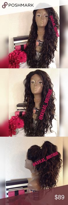 LACE WIG HUMAN HAIR BLEND FREE PART LACE WIG TAKES HEAT UP TO °400 CAN BE PUT UP IN PONYTAIL OR HOWEVER YOU DESIRE NO TANGLING NO MATTING BRAND NEW 🎁I DO NOT TRADE AT ALL #NEVER 🎁NOT ACCEPTING OFFERS 🎁NO HOLDS 🎁PRICE IS FIRM 👑ACTUAL PHOTOS OF MY PRODUCT & MY WORK NO SCREENSHOTS NO STOCK PHOTOS  📣I DO NOT TRADE📣  💌SHIPPING POLICY :SAME DAY SHIPPING IF PURCHASED BEFORE 12PM MONDAY | SATURDAY . DELIVERY TIME :2-3 BUSINESS DAYS Accessories Hair Accessories