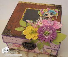 Imagina, crea y sueña: Alhajero/Jewelry box