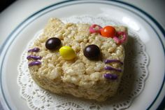 Hello Kitty Rice Krispy Treat