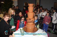 Fuente de Chocolate en Centro Comercial