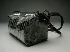 Carbon fiber purse made from a flexible carbon fiber sailcloth.    $65