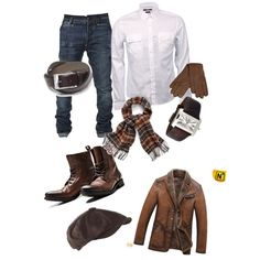 Winter Denim & Brown