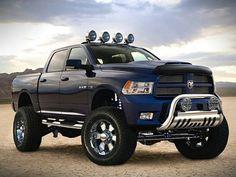 When I'm 19 I want a blue and orange Dodge. Jeep Truck, Dodge Trucks, Lifted Trucks, Pickup Trucks, Dodge Ram Pickup, Lifted Dodge, Dodge Ram 2500 Diesel, Dodge Cummins, Rueda Grande