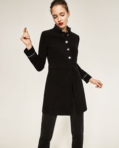 Image 1 of MILITARY FROCK COAT from Zara