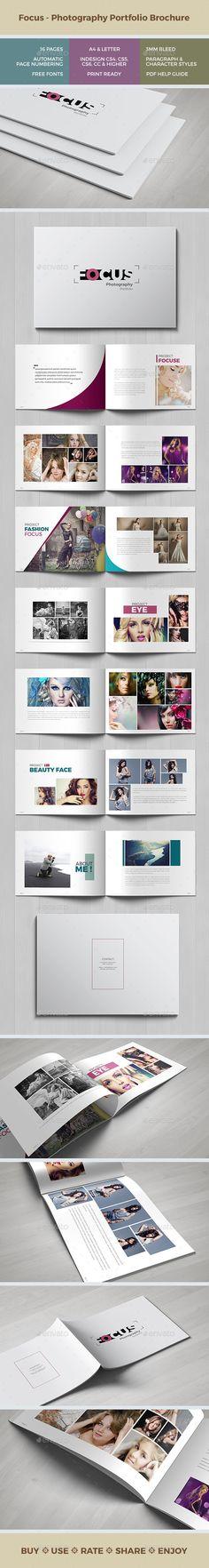 Focus - Multipurpose Portfolio Brochure