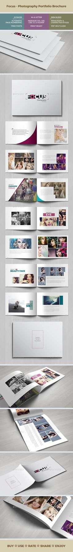 Focus - Multipurpose Portfolio Brochure