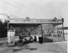 Shell Company of California gas station.