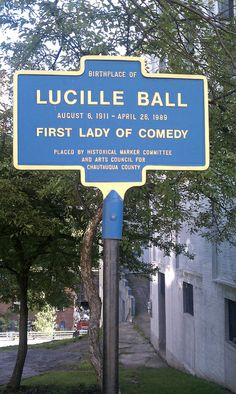 Sign in Jamestown. I have been to Lucy Days in Jamestown several times! I Love Lucy Show, Do Love, Love Is All, Love Her, Just For You, Lucy And Ricky, Lucy Lucy, William Frawley, Jamestown Ny