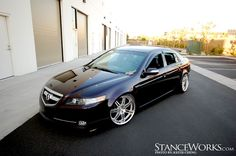 Acura TL - This is my favorite body style of the TL. This one has a perfect stance.