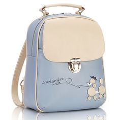 PU Leather Backpack Women Small Backpacks For Teenage Girls Mochila Feminina Sweet Candy Cute Dog Lady Bag Satchel Sac A Dos Leather Backpacks For Girls, Vintage Backpacks, Cute Backpacks, Girl Backpacks, Fashion Bags, Fashion Backpack, Dog Bag, Shoulder Bags For School, Louis Vuitton