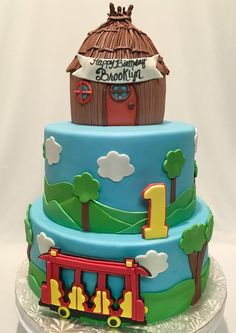 Image result for daniel tiger birthday cake ideas