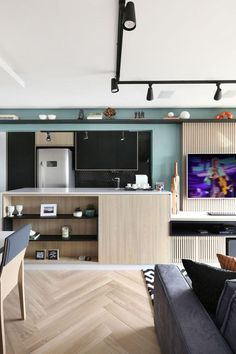 Charme e conforto em apartamento de 57 m² | ❥Hobby&Decor | Instagram.com/hobbydecor | #decor