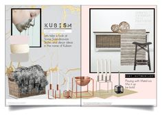 """Kubism"" by keydon ❤ liked on Polyvore featuring interior, interiors, interior design, home, home decor, interior decorating, By Lassen, MANGO, Chandra Rugs and Selamat"