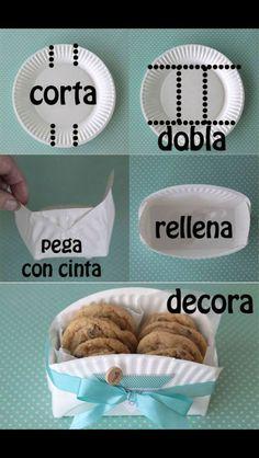 Galletitas para compartir!! Buena idea para mesas de dulces: