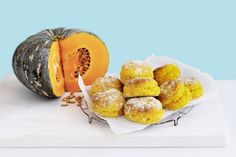 Beneath this pumpkin's thick, mottled skin is a bright orange flesh that becomes deliciously sweet when baked, or boiled and mashed for our fluffy scones.