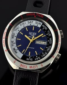 Ultimate Guide to the Heuer Solunar | The Home of Vintage Heuer Collectors