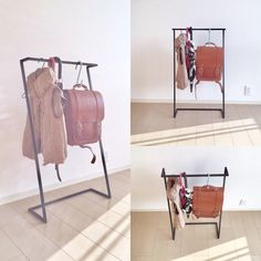 kid's☆iron hanger rack | ハンドメイドマーケット minne