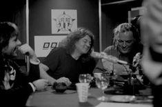 Bruce Dickinson, Ian Gillan & David Gilmour