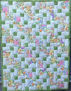 Beautiful quilt by Suzette.