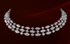 CARTIER  Cartier necklace in white gold with diamonds