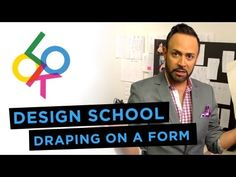 ▶ Draping on a Form: Design School w/ Nick Verreos - YouTube