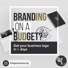 Dont compromise on quality when it comes to the most important aspect of your business. Get your premium logo in 5 business days. Get Started. Send us an email hello@logoexpress.ng or call 0818 000 5219 #swpsponsoredpost""