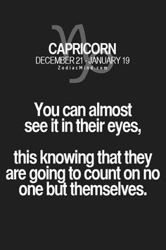 Zodiac Mind - Your source for Zodiac Facts — Fun facts about your sign here Capricorn Aquarius Cusp, All About Capricorn, Capricorn Quotes, Zodiac Signs Capricorn, Capricorn And Aquarius, Zodiac Mind, Capricorn Season, My Zodiac Sign, Zodiac Facts