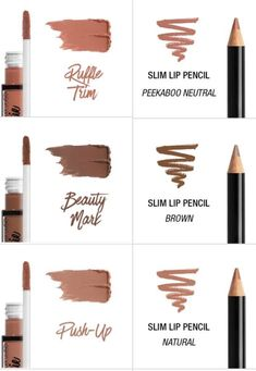 """Yulie on is part of eye-makeup - NYX lingerie lipstick and lip liner that's match with it You're welcome"""" Makeup To Buy, Kiss Makeup, Beauty Makeup, Eye Makeup, Hair Beauty, Dupes Nyx, Drugstore Makeup, Velvet Teddy Mac, Nyx Lingerie"""